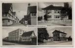 AK Mehrbild Tamm bei Ludwigsburg Bahnhof Schule Möbelfabrik ... Schreibfehler 1940 RAR