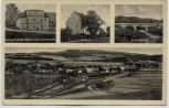 AK Mehrbild Schlaney Słone (Kudowa-Zdrój) Grafschaft Glatz Gasthaus Zollamt Grenzbrücke bei Bad Kudowa Schlesien Polen 1940 RAR