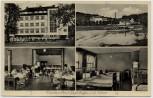 AK Mehrbild Kindersolbad Karlshafen an der Weser 1940