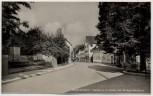 AK Foto Brackenheim Partie an der Linde mit Kriegerdenkmal 1940 RAR