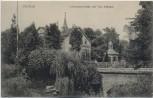 AK Herford Arndtstrassenbrücke und Villa Siekmann 1906