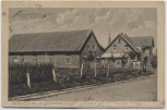AK Gruss aus Bohnhorst Bahnhofs-Wirtschaft bei Warmsen 1928