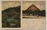 AK Düdinghausen Gastwirtschaft Meyer und Königsee Auhagen Schaumburg 1927 RAR