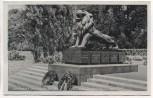 AK Saarlautern Denkmal des Feld-Art.-Regts. v. Holtzendorft Nr. 8 Saarlouis 1940