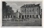 AK Saarlautern Dreissigerdenkmal mit Kreissparkasse Saarlouis 1940