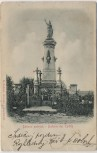 Präge-AK Chlum (Všestary) Batterie der Toten bei Josefov (Jaroměř) Josefstadt 1866 Tschechien 1900