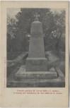 AK Česká Skalice Böhmisch Skalitz bei Hradec Králové Schlachtfeld bei Königgrätz Denkmal der Gefallenen 28. Juni 1866 Tschechien 1910