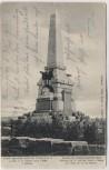 AK Vysokov Wysokow bei Náchod Schlachtfeld bei Königgrätz 1866 Denkmal Tschechien 1905