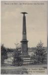 AK Bojiště u Hradec Králové Schlachtfeld bei Königgrätz 1866 Hesser-Denkmal Tschechien 1910