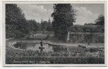 AK Saarlautern Partie im Stadtgarten Saarlouis 1940