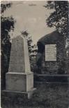 AK Sadová bei Hradec Králové Schlachtfeld bei Königgrätz 1866 Denkmal des k. k. Preuss. 5. Inf. Reg. Oberst Baron Binder Tschechien 1910