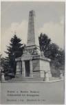 AK Bojiště u Hradec Králové Schlachtfeld bei Königgrätz 1866 Mausoleum bei Lípa Tschechien 1910