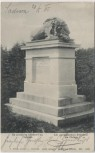 AK Bojiště u Hradec Králové Schlachtfeld bei Königgrätz 1866 Am preussischen Friedhof am Chlum Tschechien 1905