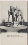 AK Bojiště u Hradec Králové Schlachtfeld bei Königgrätz 1866 Ossarium Mausoleum in Chlum Tschechien 1910