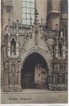 AK Breslau Domportal Wrocław Polen Schlesien 1910
