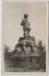 AK Foto Vysokov Wysokow bei Náchod Schlachtfeld bei Königgrätz 1866 Feldjäger-Denkmal Tschechien 1930
