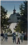 AK Trautenau Trutnov Kapelle 1866 Kapellenberg mit Soldaten Böhmen Tschechien 1910