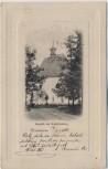 Präge-AK Trautenau Trutnov Kapelle 1866 am Kapellenberg Böhmen Tschechien 1900