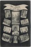 AK Mehrbild Gruss aus Trautenau Trutnov Denkmäler Schlachtfeld 1866 Böhmen Tschechien 1910