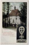 AK Trautenau Trutnov Kapelle 1866 mit Kruzifix Böhmen Tschechien 1900