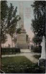 AK Trautenau Trutnov Gablenzdenkmal 1866 Böhmen Tschechien 1928