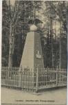 AK Trautenau Trutnov Preussen-Denkmal 1866 Böhmen Tschechien 1913