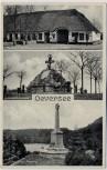 AK Oeversee Hansen's Gasthaus Dänisches und Österreich-Denkmal 1864 1940