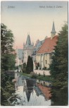 AK Zobten am Berge Schloß Gorkau Sobótka Polen Schlesien 1910