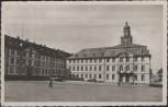 AK Saarbrücken Altes Rathaus am Schlossplatz mit MiNr. 282 Saarland 1954