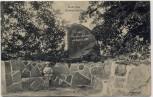 AK Schwarzenbek in Schleswig-Holstein Körner-Denkmal mit Kind 1910 RAR