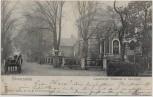 AK Schwarzenbek in Schleswig-Holstein Lauenburger Chaussee und Sparkasse 1906 RAR