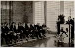 AK Foto Schwarzenbek in Schleswig-Holstein Richtfest Turnhalle Compe-Schule 1959 RAR