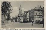 AK Schwabmünchen Luitpoldstraße Radfahrer 1935