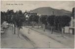 AK Gruss aus Sulz Ortsansicht Strasse mit Menschen Elsass Haut-Rhin Frankreich 1911