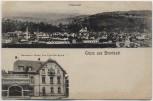 AK Gruss aus Brombach bei Lörrach Totalansicht Gasthaus zur Krone 1910