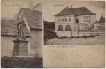 AK Gruss aus Hördt in der Pfalz Schulhaus Denkmal St. Johannes 1919 RAR