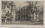 AK Foto Oberbieber Neuwied Blick auf Hotel Wiedischer Hof mit Menschen 1918 RAR