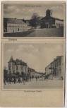 VERKAUFT !!!   AK Lintgen Kirche Schule Luxemburger Straße Kanton Mersch Luxemburg Luxembourg 1920 RAR