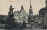 AK Dresden Georgentor Kgl. Schloss Kath. Hofkirche 1910