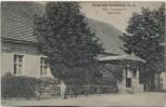 AK Gruss aus Bornsdorf Max Schuster's Gasthaus bei Heideblick 1908 RAR