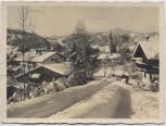 AK Foto Schliersee Ortsansicht im Winter 1935