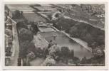 AK Foto Weimar Schwanenseebad mit Stadion Fliegeraufnahme 19019 1940