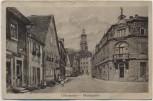 AK Uffenheim Marktplatz mit Kindern Mittelfranken Bayern 1921