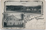 AK Gruss aus Rodersdorf Seifert`s Restaurant bei Weischlitz Plauen Vogtland 1910 RAR
