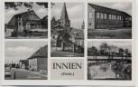 AK Mehrbild Innien in Holstein Denkmal Schule Hauptstraße ... Aukrug 1950