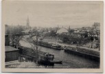 AK Bromberg Bydgoszcz Stadtansicht mit Schiffen Westpreußen Polen 1930