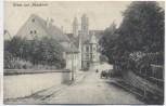 AK Gruss aus Messkirch Kirche mit Straße 1910