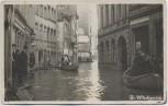 AK Foto Köln Grosse Witschgasse Hochwasser Boote Menschen 1920 RAR