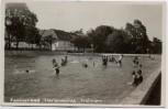 AK Foto München Freimann Familienbad Florianmühle viele Kinder 1938 RAR