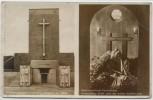 AK Olsztynek Hohenstein Reichsehrenmal Tannenberg Eingang Hindenburg-Gruft nach der ersten Aufbahrung Ostpreußen Polen 1935